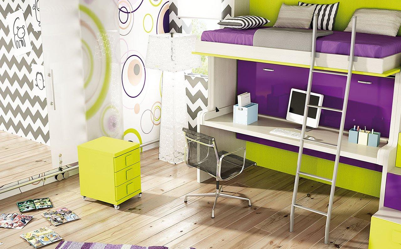 Inicio el chafl n mueble juvenil - El mueble dormitorio juvenil ...