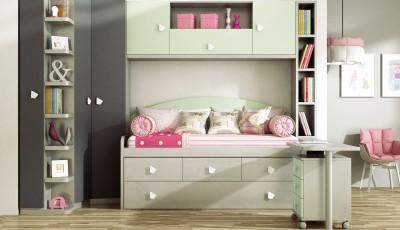 Dormitorio Juvenil Livemar - Modelo 65A