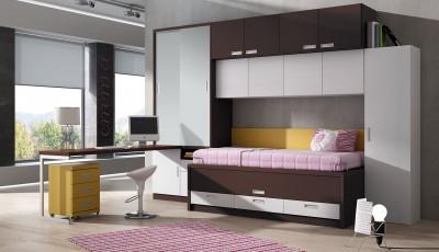Dormitorio Juvenil Livemar - Modelo 66A