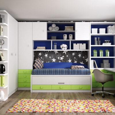 Dormitorio Juvenil Livemar - Modelo 68A