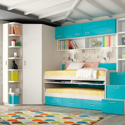 Dormitorio Juvenil Livemar - Modelo 69A
