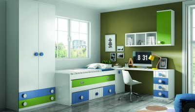 Mueble Juvenil Grupo 8 - Modelo 4