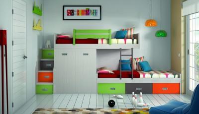 Mueble Juvenil Grupo 8 - Modelo 7