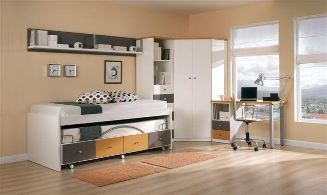 Dormitorio Juvenil - Grupo 8 - Modelo 01
