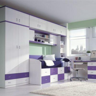 Dormitorio Juvenil - Grupo 8 - Modelo 05