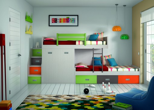 ¿Litera sí o no? Ventajas de este mueble para una habitación infantil o juvenil