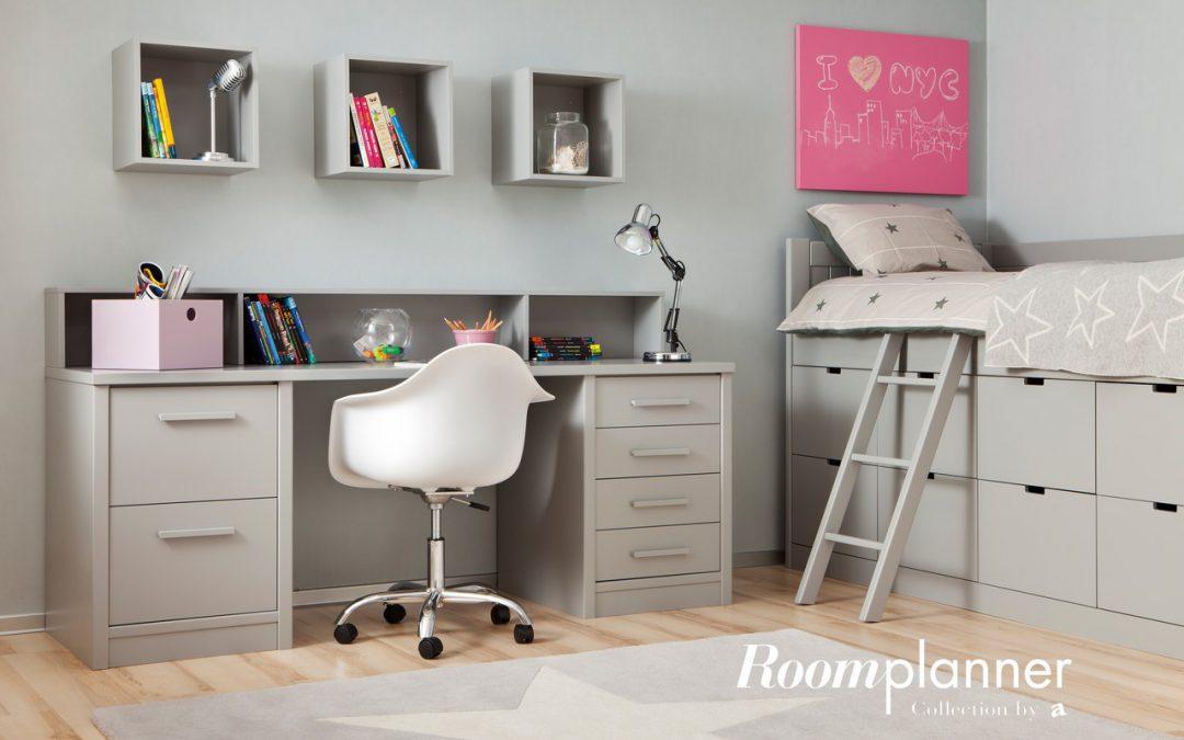 Cómo organizar la mesa de estudio en un dormitorio juvenil