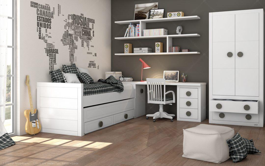 ¿Cómo decorar las paredes de una habitación juvenil?: 5 claves innovadoras