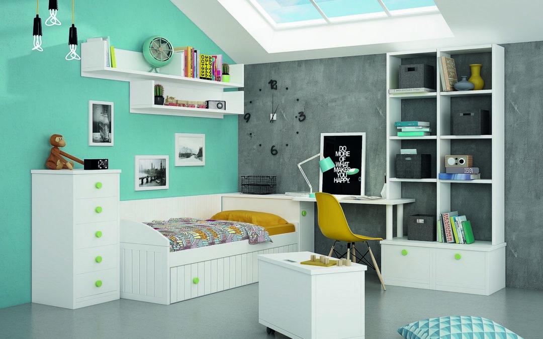 Muebles infantiles para guardar juguetes: ¿cómo organizar el espacio?